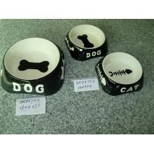 Tazones de cerámica del perro (CY-P5752)