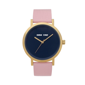 elegance brand business genuine leather women wrist watch