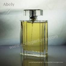 Parfums de verre lourd avec parfum original