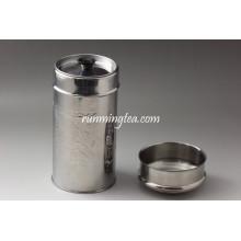 Metal Canister com tampa (diferentes opções de capacidade)