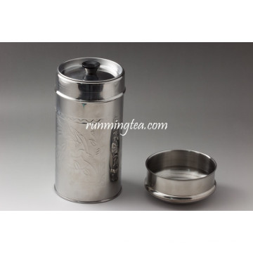 Metal Canister with Lid (Different Capacity Options)