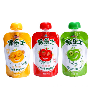 Baby Spout Plastpåse Fruktjuice Packaging