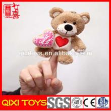 patrones de títeres de dedo juguetes de títeres de dedo de oso de peluche