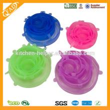 2014 Кухня с широким выбором цветов Универсальная силиконовая регулируемая подставка для хранения свежей чашки