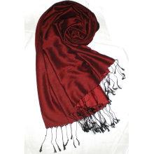 Шелковый реверзибельный шарф