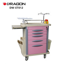 Hospital Equipment Function Medical Emergency Trolley Cart