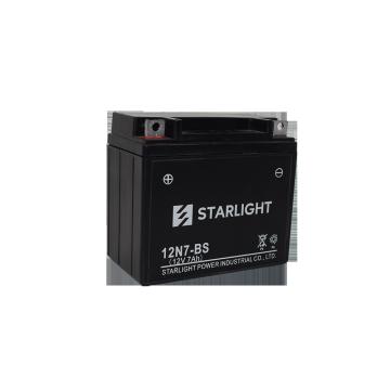 12V7AH 12N7-BS SMF Motorcycle Battery