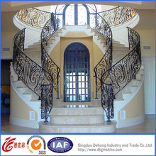 Elegant Wrought Iron Residential Security Handrail