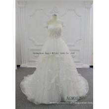 Vestido de casamento encomendado pessoal de alta classe