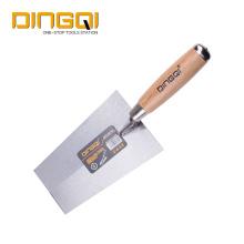 Мастерок для кирпича DingQi Professional 140 мм с деревянной ручкой