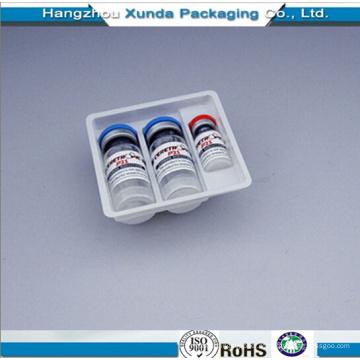 Embalagem de Plástico Embalagem Bandeja Blister Bandeja de Vial