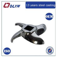 ISO certifié usine OEM acier inoxydable perdu cire moulé pièces de coupe machine