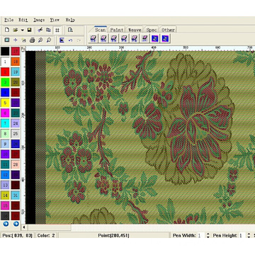 Electronic Jacquard CAD Software China Manufacturer