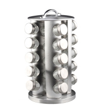 Stainless Steel Round Revolving Spice Rack