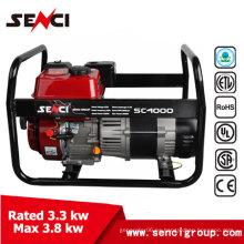 4KW Estilo simple gasolina silenciosa generador de imanes permanente generador portátil de imanes