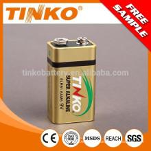 """Pila alcalina de OEM Super """"TINKO"""" tamaño 9V 1pcs/blister (tinko batería)"""