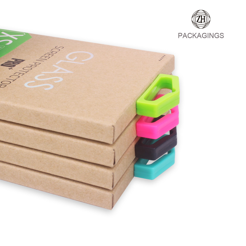 Customized Tempered Glass Paper Packaging