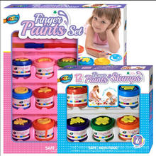6 Finger Paint Stamp Box