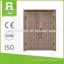 Cast aluminum door with top quality