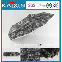 19 Zoll modischer Entwurf Faltender Regenschirm