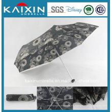 19 pulgadas de diseño de moda paraguas plegable