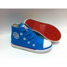 2016 Latest Design Kids Canvas Shoes Vulcanied Shoes (SNK-02013)