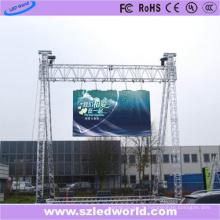 Panneau d'affichage électronique / numérique de moulage sous pression de LED de location / extérieur pour la publicité (P5, P8, P10)