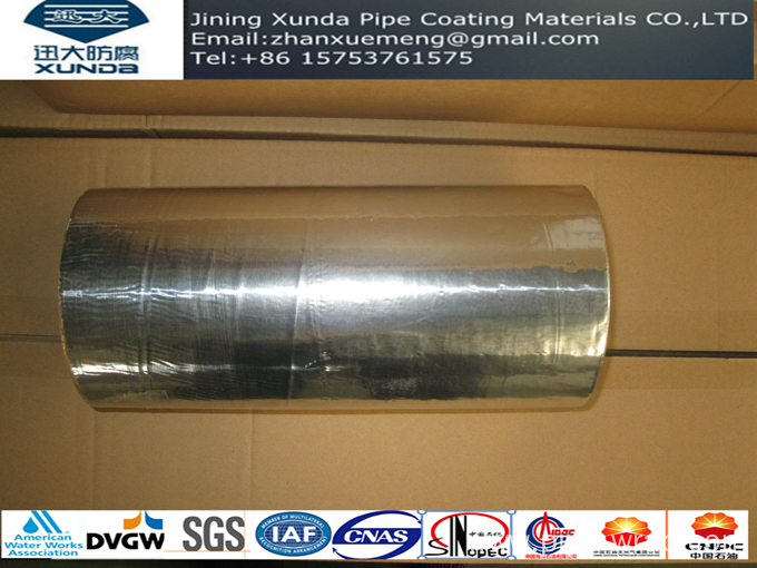 Reinforced aluminum bitumen tape for roof waterproofing