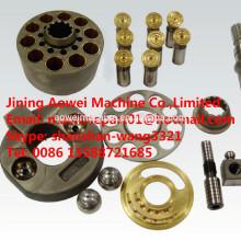 Piezas de la bomba principal hidráulica HPV95 para la bomba principal de la excavadora PC200-6 PC200-7 PC200-8 708-2L-33211 placa de válvula de bloque de cilindro