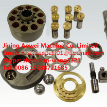 HPV95 Hydraulic main pump parts for PC200-6 PC200-7,PC200-8 excavator main pump parts 708-2L-33211,cylinder block,valve plate
