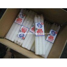 Bougie blanche vente chaude en Afrique