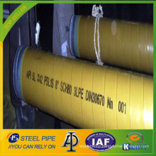 Deluxe Grade 3PE API 5L SAW Steel Pipe
