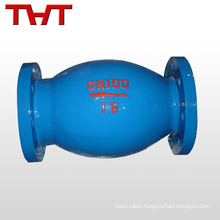daniel microresistance vertical float 4 ball dn15 non-slam check valve