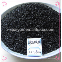 На основе угля гранулированный активированный угольный фильтр для противогаза