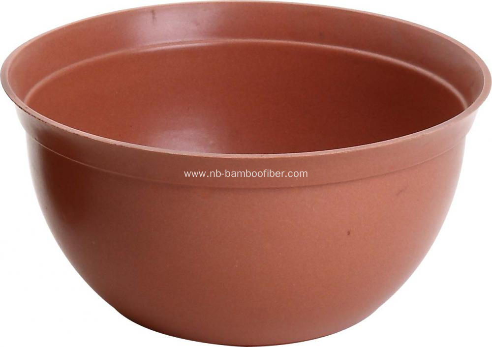 Large opening fat body flower pot