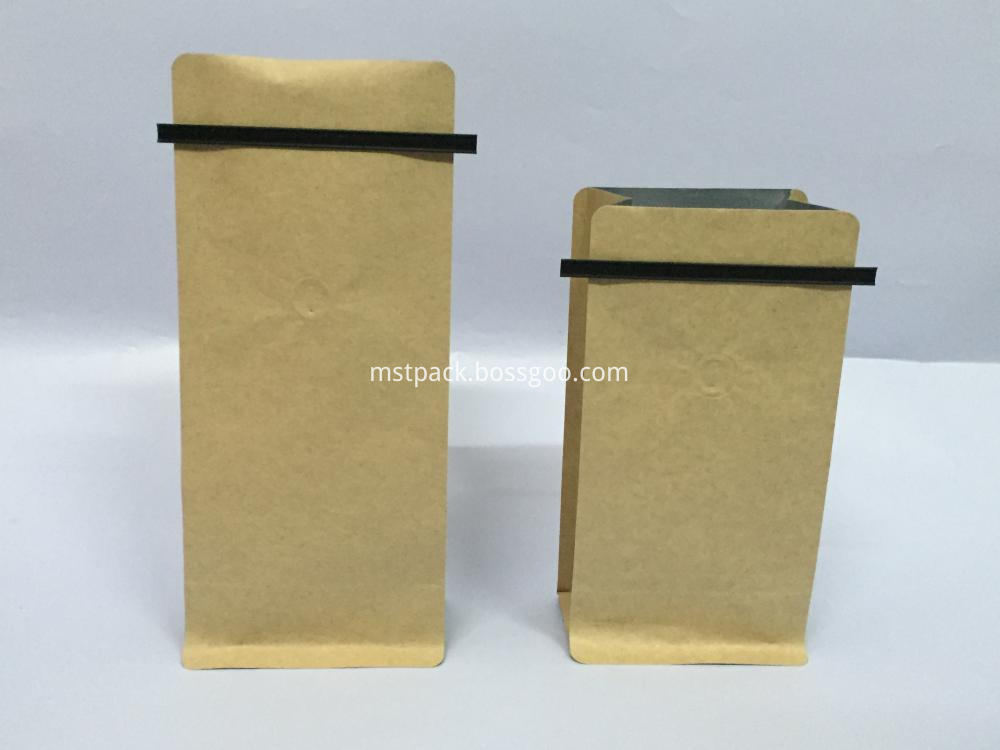 Coffee Pouch with Tin Tie