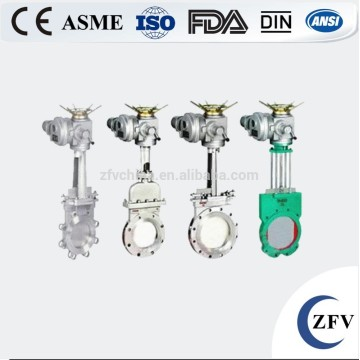 DN200 slurry knife gate valve