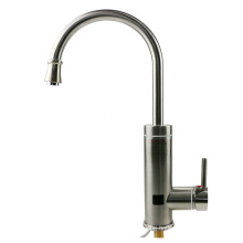 A18 Stainless steel Electric Hot Water Heater Faucet Kitchen Heating Tap with LED Digital Display