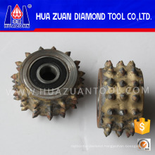 Litchi Surface Diamond Bush Hammer Roller for Granite Marble