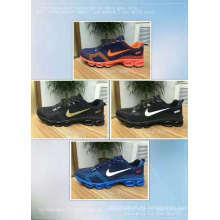El último color de moda popular brillante ata para arriba las zapatillas deportivas de las señoras baratas