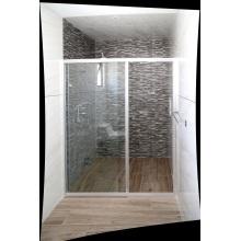Раздвижная дверь из закаленного стекла для душа в ванной комнате