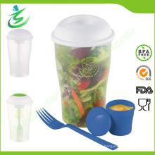 Großhandel Salat Cup, 3 PCS auf dem Gehen für Vegetarier