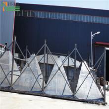 Coletor de pó de cerâmica multi-barril para forno de ar quente