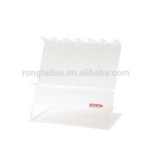 Rongtaibio Acryl pipeta stand 6 posição