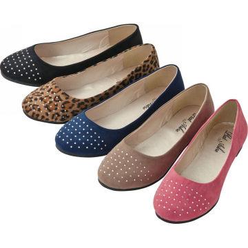 Модные довольно балерина обувь 2014 леди обувь онлайн
