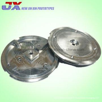 Usinage CNC pièces pièces de machines de précision pour l'utilisation de champs divers