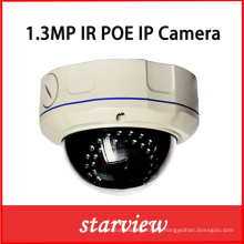1.3MP Poe IR CCTV de red de seguridad IP cámara domo (DH3)