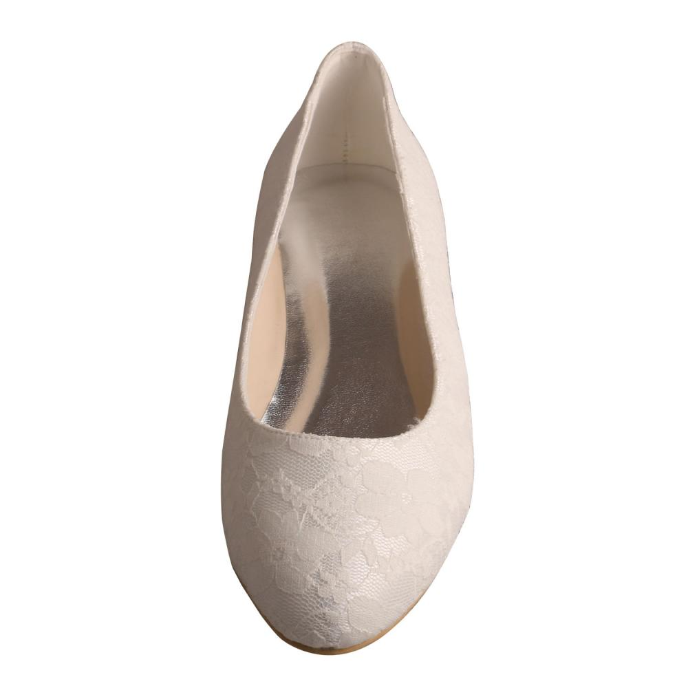 Flat Shoes For Bride