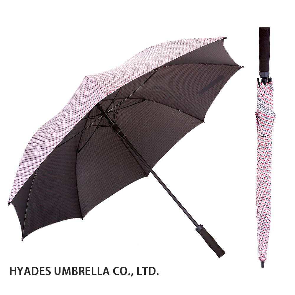 auto open golf umbrella black coating