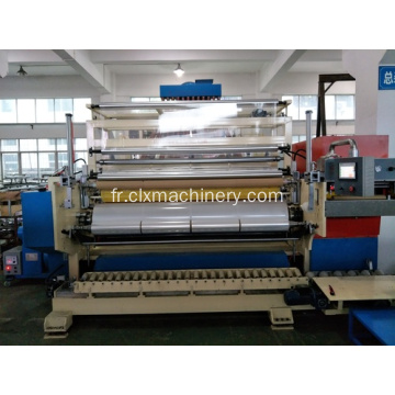Trois extrudeuses Machine Cast Stretch Film Maker